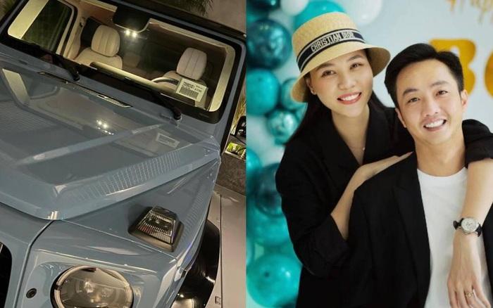 Đàm Thu Trang được ông xã tặng siêu xe độc bản tại Việt Nam, soi giá tiền mà
