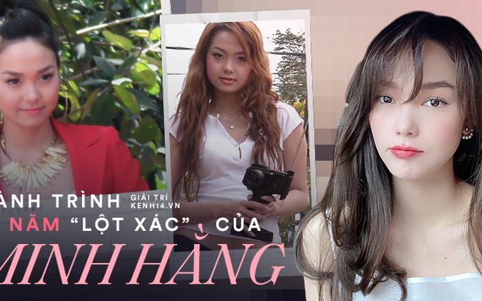 """Minh Hằng dành 17 năm thanh xuân để """"lột xác"""": Từ """"bé Heo"""" bị netizen tố phẫu thuật hỏng đến visual nữ thần gây bão xứ Trung"""