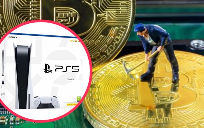 Máy chơi game PS5 có thể đào Bitcoin