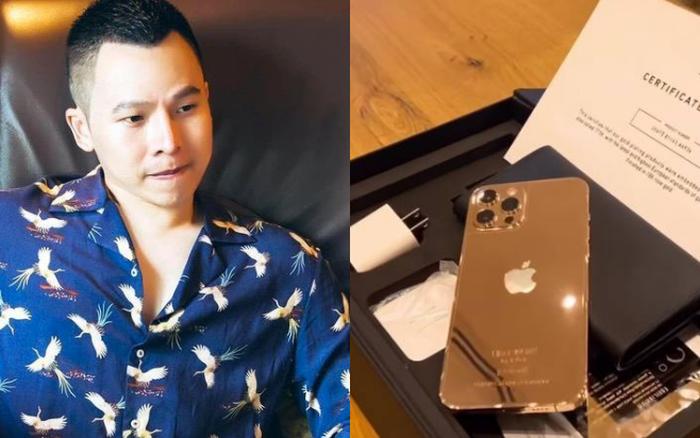 Vũ Khắc Tiệp là một trong 500 người trên thế giới sở hữu iPhone 12 Pro Max mạ vàng 18K, khoe giá thực tế mà choáng! - giá vàng 9999 hôm nay 1311