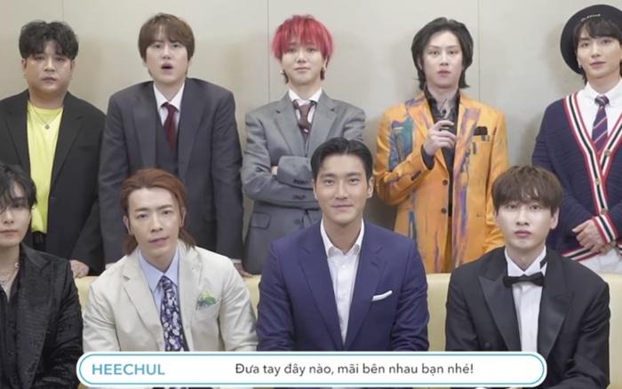 Super Junior bắt trend