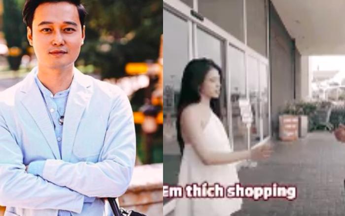 Linh Ka đi shopping nhưng không lo lắng vì đã có Quang Vinh, thả nhẹ 1 câu