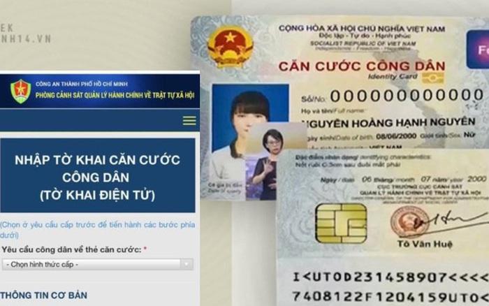 Có thể đăng ký làm thẻ CCCD gắn chip tại nhà qua Zalo