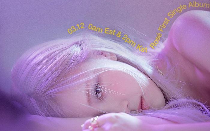 Rosé (BLACKPINK) tung poster mới hé lộ tên single album đầu tay, có đúng một chữ cụt lủn đơn giản mà độc!