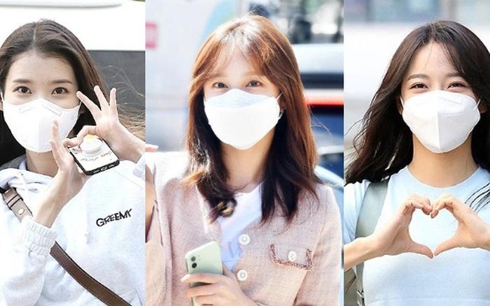 Lâu lắm rồi mới được thấy dàn mỹ nhân xứ Hàn đọ sắc trên đường đi làm: IU xinh xỉu, Hani gặp đối thủ khi so kè vóc dáng