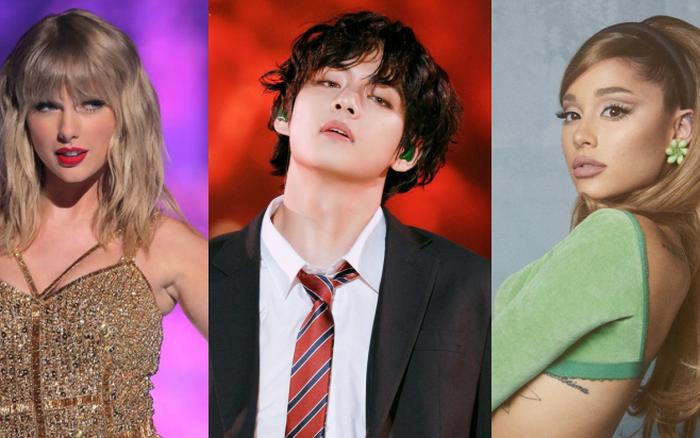 BTS tiễn Taylor Swift, Ariana Grande và dàn sao USUK