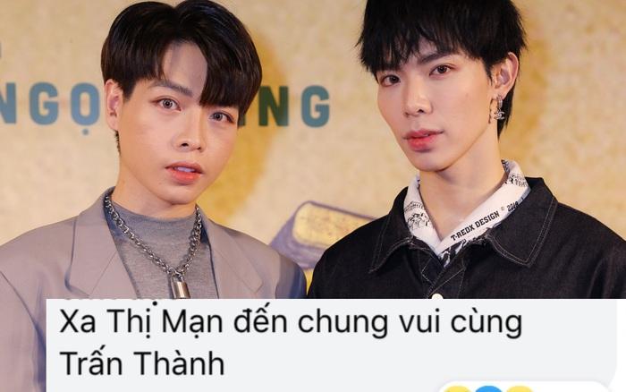 Đức Phúc - Erik sóng đôi trên thảm đỏ ra mắt phim Trấn Thành, netizen:
