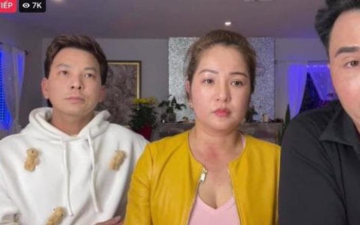 Bạn thân của vợ cũ Hoàng Anh livestream