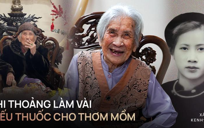 Gặp cụ bà 100 tuổi ở Hà Nội gây sốt bởi nhan sắc trong đám cưới thời trẻ: Sinh ra tại Pháp, từng được mệnh danh là