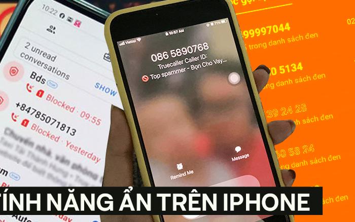Tuỳ chỉnh nhanh trên iPhone để ngăn chặn các cuộc gọi rác