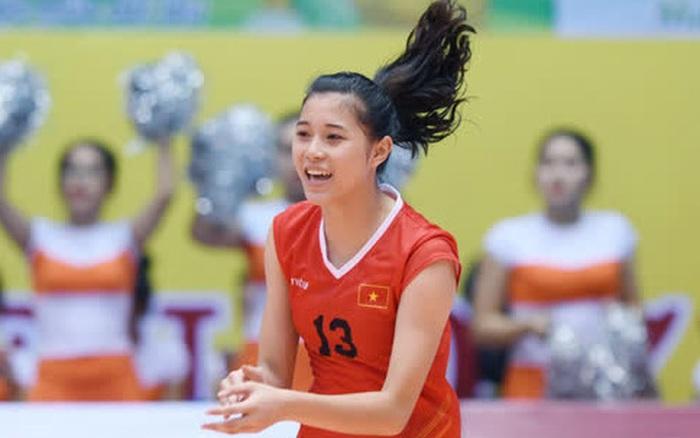 Thông tin hoa khôi bóng chuyền 19 tuổi Đặng Thu Huyền giải nghệ được CLB chủ quản xác nhận