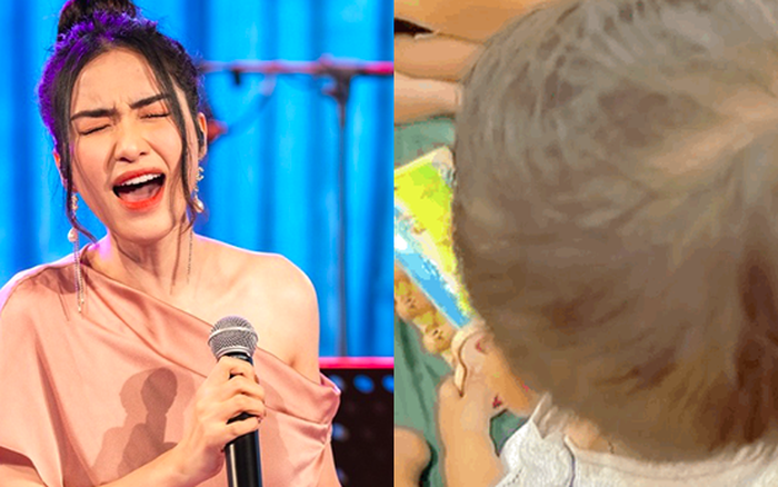 Con trai Hoà Minzy mới 1 tuổi rưỡi đã biết hát song ca với bố đại gia, đến mẹ là ca sĩ nổi tiếng cũng phải thốt lên điều này
