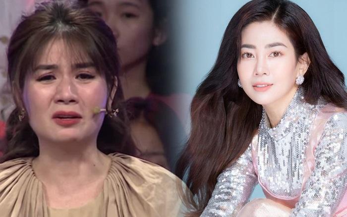 Kha Ly bật khóc trên sóng truyền hình: