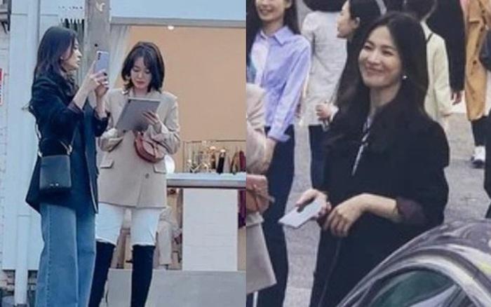Lâu lắm rồi mới thấy Song Hye Kyo ngoài đời: Từ xa đã xinh đẹp ngất ngây, ống kính team qua đường không