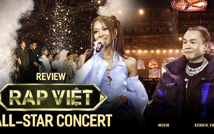4 tiếng Rap Việt Concert: sân khấu hoành tráng với 1001