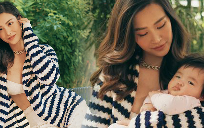 Đông Nhi khoe visual cực xịn bên con gái, hé lộ luôn chức vụ đặc biệt của bé khi mới 4 tháng tuổi