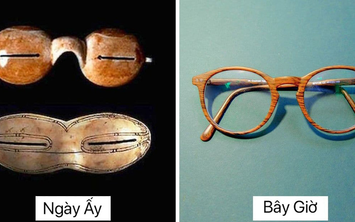 Bản gốc của 14 vật dụng hằng ngày, trải qua trăm năm