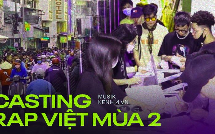 Review casting Rap Việt mùa 2 ngày đầu tiên: Rap cực hay vẫn bị rớt như sung, trật 1-2 câu là bị loại ngay lập tức?