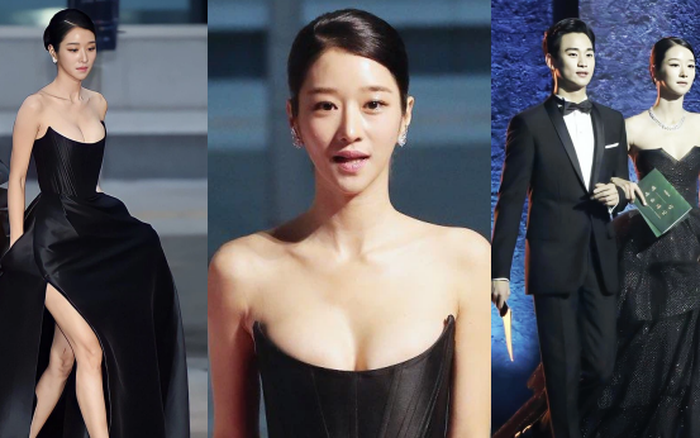 Những màn o ép vòng 1 muốn bung cúc của Seo Ye Ji: O ép
