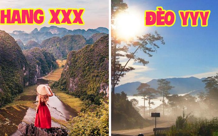 """Việt Nam sở hữu những địa danh có tên gọi """"lạ lắm à nghen"""", nghe cái là bị ấn tượng liền nhưng cũng dễ nhầm lẫn"""