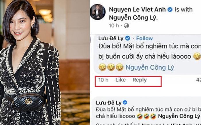 Lưu Đê Ly phải bình luận lên xuống mới được Việt Anh