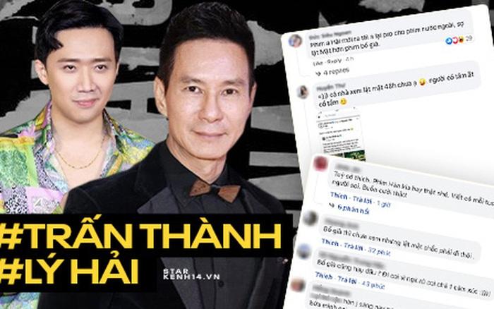 Netizen tranh cãi Trấn Thành PR phim ngoại ngay khi bom tấn của Lý Hải vừa ra mắt: