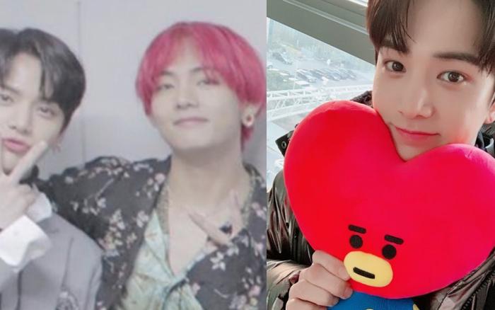 Kpop có chàng idol mê V (BTS) như điếu đổ: Vỡ oà sung sướng khi gặp mặt, giữ món quà được tặng như báu vật