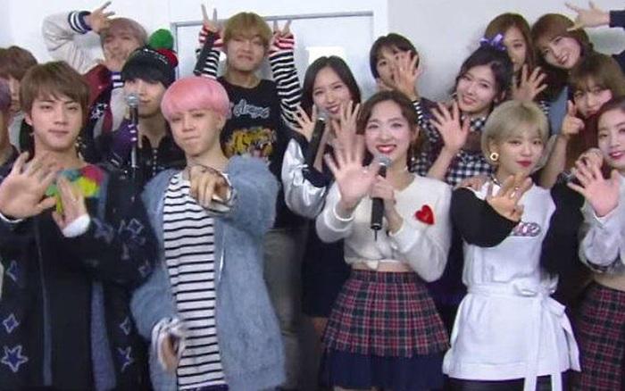 Mối duyên ngầm giữa BTS và TWICE: Trai đẹp cứ 5 lần 7 lượt comeback là kiểu gì cũng đụng độ gái xinh