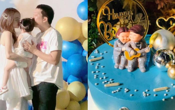 Đang dính thị phi, Nhã Phương vẫn dành điều đặc biệt cho Trường Giang, zoom cận chiếc bánh sinh nhật là hiểu