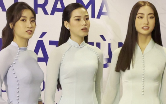 """""""Camera thường"""" chấm điểm loạt Hoa hậu tại event: Lương Thuỳ Linh ốm đi trông thấy, Đỗ Mỹ Linh nền nã lấn át cả đàn em"""