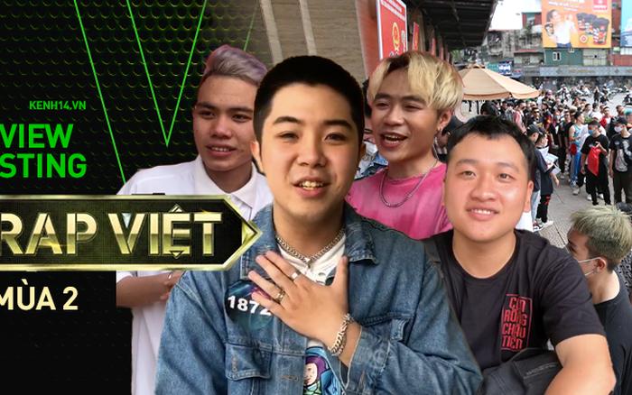 Review casting Rap Việt từ thí sinh: 1000 người chỉ chọn 20, beat BTC đưa cho