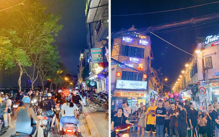 Trót dại xuống phố tối ngày giỗ Tổ, giới trẻ Hà Nội chịu cảnh kẹt cứng khắp mọi nẻo đường, đông không kém gì Sài Gòn