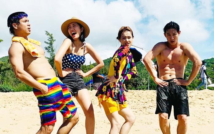 Cuối cùng Nhã Phương đã chịu lộ diện bên hội bạn thân Thuý Ngân, Trương Thế Vinh giữa drama với đạo diễn Nhất Trung?