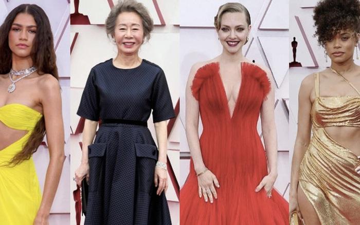 Siêu thảm đỏ Oscar 2021: Minh tinh xứ Hàn át cả dàn mỹ nhân hở bạo liệt, công chúa Disney xinh xỉu làm lu mờ người đẹp suýt lộ vòng 3