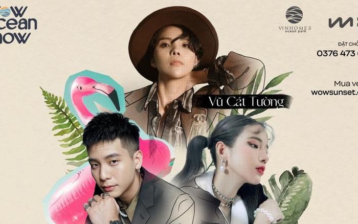 Lộ diện dàn ca sĩ đình đám tại đêm nhạc Wow Ocean Show tại Hà Nội hot nhất mùa lễ hội năm nay, đừng bỏ lỡ!