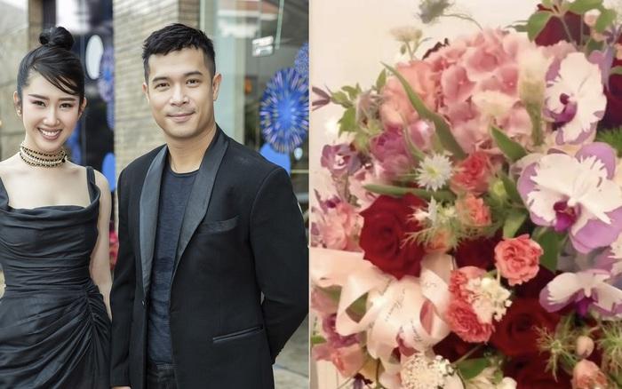 Thuý Ngân khoe được tặng bó hoa to vật vã trong ngày đặc biệt, dẫn tình lại nghĩ ngay đến Trương Thế Vinh?