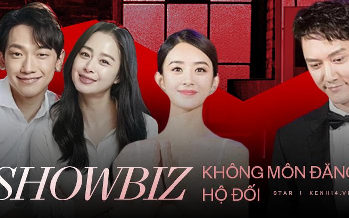 Cái kết cuộc tình không môn đăng hộ đối chốn showbiz: Triệu Lệ Dĩnh ly hôn sau ồn ào bạo hành, Lee Hyori - Kim Tae Hee trái ngược
