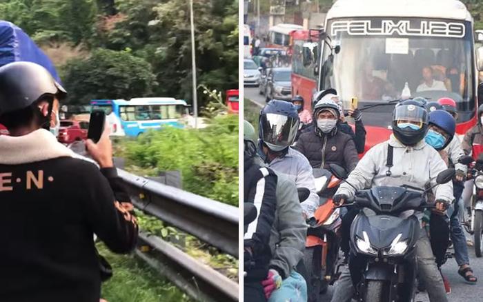 Nghe nói Đà Lạt sáng nay vắng lắm vì dân tình đang kẹt cứng ở Bảo Lộc, cảnh này chắc chiều mới tới nơi!