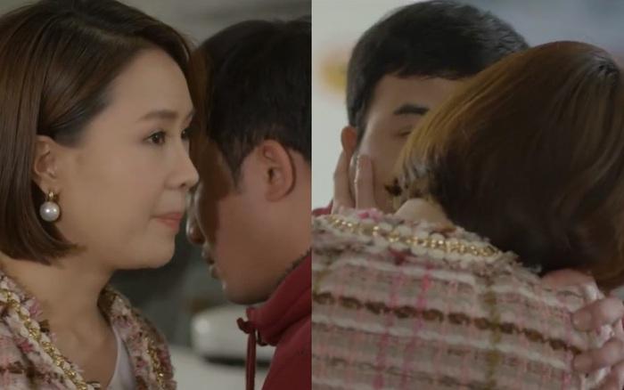Châu cưỡng hôn Phúc trước mặt Minh - Kiên ở Hướng Dương Ngược Nắng 2