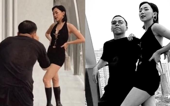 Cuối cùng cũng lộ cảnh Hoàng Touliver làm phó nháy cho Tóc Tiên, vợ đánh giá ra sao chưa rõ nhưng netizen chấm luôn điểm 10 vì điều này?