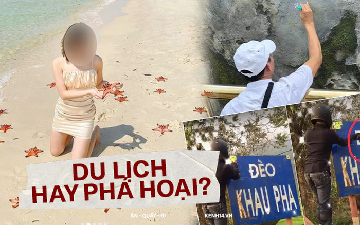 """Những lần du khách Việt """"tạo nghiệp"""" với loạt hành động nhức mắt, vụ sao biển chết khô vẫn còn """"nhẹ nhàng"""" chán!"""