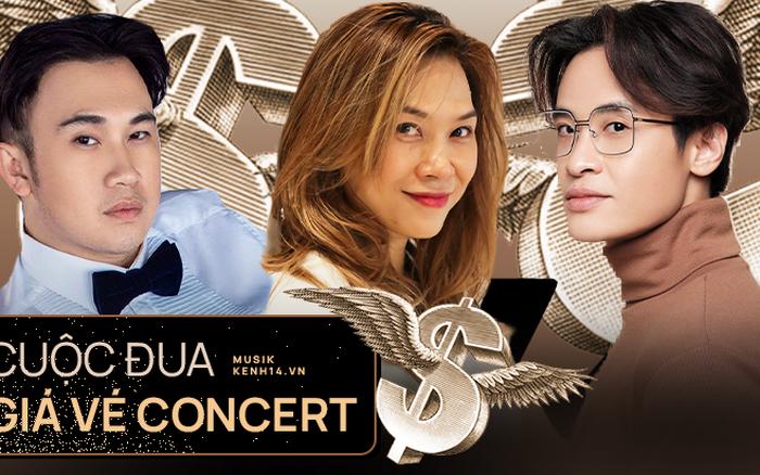 Giá vé concert nhạc Việt dạo này: Hà Anh Tuấn vượt Mỹ Tâm, Rap Việt