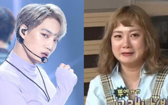 Bị cảnh sát điều tra, sao nữ quấy rối tình dục Kai (EXO) bật khóc, liên tục nói lời xin lỗi trên sóng truyền hình