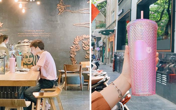 Cận cảnh chiếc cốc Starbucks lấp lánh đang khiến dân tình nháo nhào: Thiết kế sành điệu đến đâu mà hot như vậy?