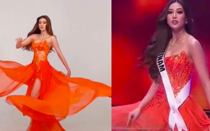 Clip: Hậu trường Khánh Vân luyện cú xoay lốc mặt trời đẹp hơn cả lúc thi, netizen đổ tội cameraman ở Miss Universe không biết bắt cảnh!