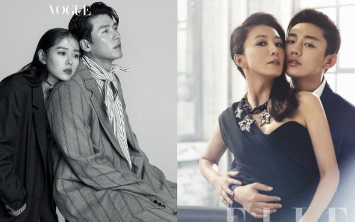 Top ảnh tạp chí đôi đẹp nhất xứ Hàn: Sốc nặng