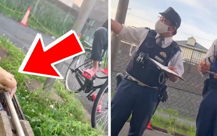 Nhóm lửa nướng thịt ngoài đường, tới lúc bị cảnh sát Nhật