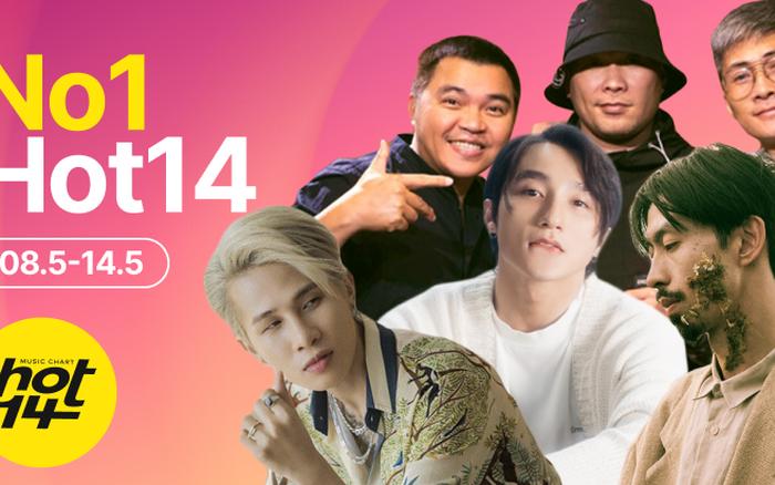 Sơn Tùng M-TP tiếp tục lập kỷ lục tại BXH HOT14 nhưng Đen Vâu và MTV band sẽ là ẩn số đe doạ no.1