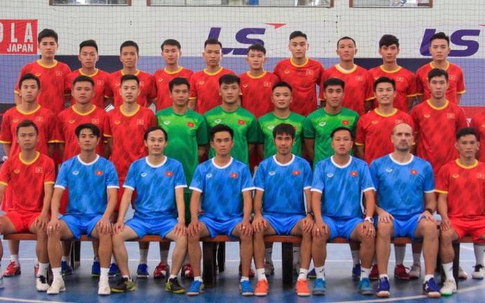 Chốt danh sách đội tuyển futsal Việt Nam sang UAE dự trận play-off giành vé đi World Cup