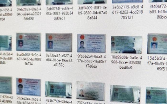 Hàng nghìn chứng minh nhân dân của người Việt bị rao bán trên mạng